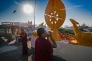 Церемония Ганден Нгачо в монастыре Ганден Лачи