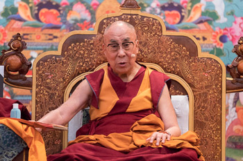 В Дели прошел второй день учений для российских буддистов