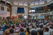 Зал, в котором проводилась 97-я церемония вручения дипломов университета Майсура. Майсур, штат Карнатака, Индия. 13 декабря 2016 г. Фото: Тензин Чойджор (офис ЕСДЛ)