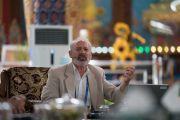 Скотт Гилберт выступает с докладом по биологии на второй день симпозиума «Эмори–Тибет». Мундгод, штат Карнатака, Индия. 19 декабря 2016 г. Фото: Тензин Чойджор (офис ЕСДЛ)