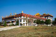 Монастырь Дрепунг Лоселинг – место проведения конференции «Эмори–Тибет». Мундгод, штат Карнатака, Индия. 20 декабря 2016 г. Фото: Тензин Чойджор (офис ЕСДЛ)