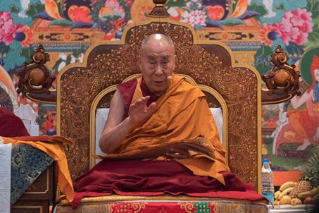 Прямая трансляция. Учения Его Святейшества Далай-ламы для буддистов России ― 2016