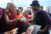 Встреча со школьниками и посещение монастыря школы ньингма