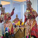 В Бодхгае прошел второй день подготовительных церемоний для посвящения Калачакры