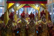Ритуальный танец прошения земли и другие подготовительные церемонии для посвящения Калачакры