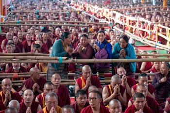 В Бодхгае завершились учения Далай-ламы, которые он даровал перед посвящением Калачакры