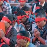 Первый день посвящения Калачакры: вхождение в мандалу