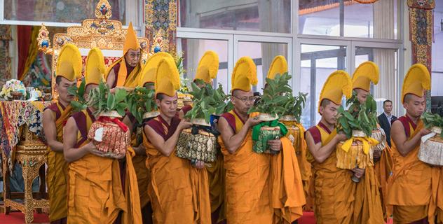 Прямая трансляция. Учения Калачакры в Бодхгае