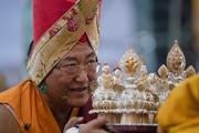 Молебен о долгой жизни Далай-ламы и церемония закрытия 34-го посвящения Калачакры
