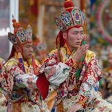 Подношение танца божествам мандалы Калачакры