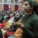 Далай-лама встретился со студентами и преподавателями Колледжа Иисуса и Марии