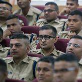 Далай-лама выступил перед курсантами Национальной полицейской академии