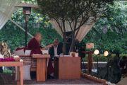 Его Святейшество Далай-лама дарует учения по просьбе фонда «Видьялока». Нью-Дели, Индия. 4 февраля 2017 г. Фото: Тензин Чойджор (офис ЕСДЛ)