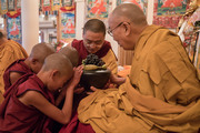 Церемония дарования монашеских обетов