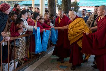 Далай-лама даровал в Дхарамсале посвящение Тысячерукого Авалокитешвары