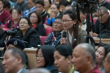 Далай-лама завершил учения в Таванге и прочел публичную лекцию