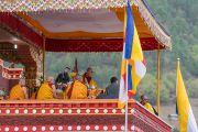 Его Святейшество Далай-лама дарует учения в монастыре Тхупсунг Дхаргьелинг. Диранг, штат Аруначал-Прадеш, Индия. 6 апреля 2017 г. Фото: Тензин Чойджор (офис ЕСДЛ)