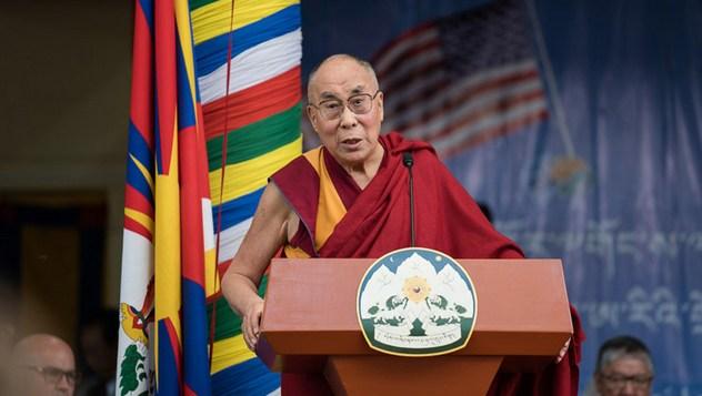 Делегацию конгресса США, прибывшую на встречу с Далай-ламой, тепло приняли в Тхекчен Чолинге