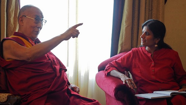Далай-лама принял участие в семинаре «Социальная справедливость и Б. Р. Амбедкар»