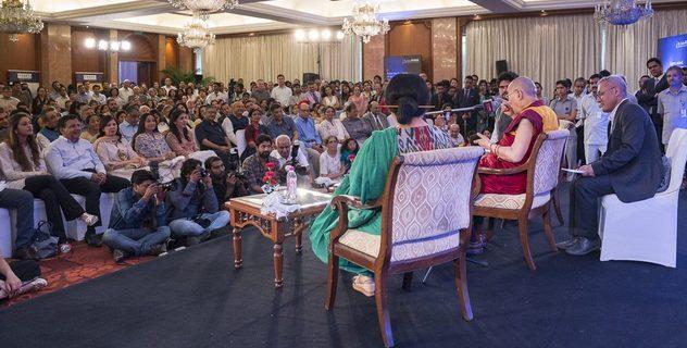 Встреча с сотрудниками газеты «Индийский курьер»