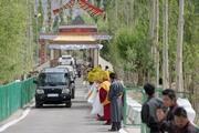 Далай-лама прибыл в Ладак