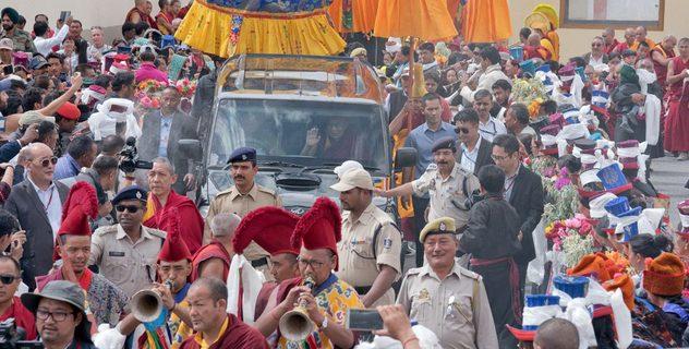 Дээрхийн Гэгээнтэн Далай Лам Ладакт хүрэлцэн ирлээ