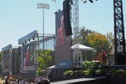 Его Святейшество Далай-лама выступает с публичной лекцией на стадионе Калифорнийского университета Сан-Диего. Сан-Диего, штат Калифорния, США. 16 июня 2017 г. Фото: Джереми Рассел (офис ЕСДЛ)