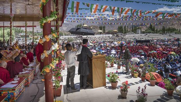 Празднование 82-летия Его Святейшества Далай-ламы