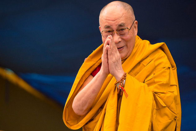 Далай-лама поблагодарил всех друзей за поздравления