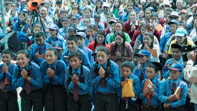 Далай-лама начал учения по сочинениям «Ступени созерцания» и «37 практик бодхисаттвы»
