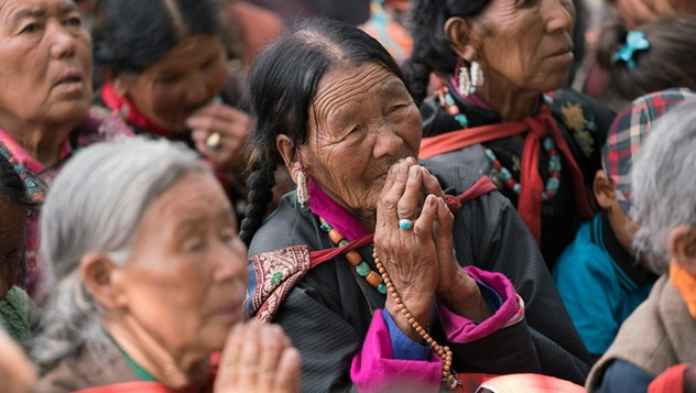 Далай-лама даровал учения по сочинению Чже Цонкапы «Восхваление взаимозависимого возникновения»