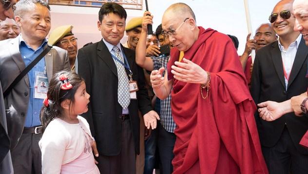 Далай-лама посетил монастырь Матхо