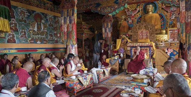 Визит в монастырь Матхо