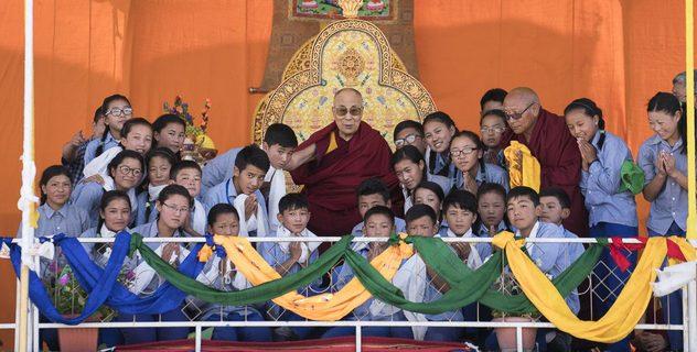 Визит в Тибетскую детскую деревню S.O.S