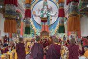 Открытие женского монастыря Дуджом и визит в Ид-Гах