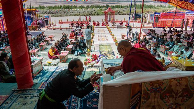 Далай-лама принял участие в семинаре «Гармония в местном сообществе – залог мира во всем мире»