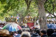Вид на площадку учений Его Святейшества Далай-ламы в монастыре Самтенлинг. Сумур, долина Нубра, штат Джамму и Кашмир, Индия. 14 июля 2017 г. Фото: Тензин Чойджор (офис ЕСДЛ)