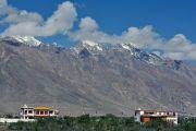 Вид на резиденцию Его Святейшества Далай-ламы в Занскаре. Занскар, штат Джамму и Кашмир, Индия. 16 июля 2017 г. Фото: Лобсанг Церинг (офис ЕСДЛ)