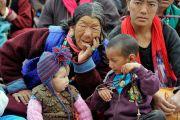 Некоторые из более чем 10,000 верующих во время второго дня учений Его Святейшества Далай-ламы. Падум, Занскар, штат Джамму и Кашмир, Индия. 18 июля 2017 г. Фото: Лобсанг Церинг (офис ЕСДЛ)