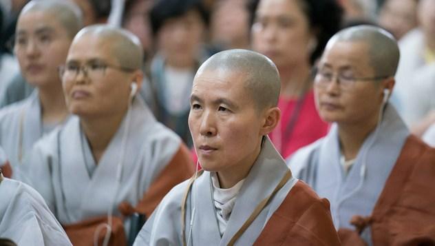 O втором дне учений для буддистов из Юго-Восточной Азии