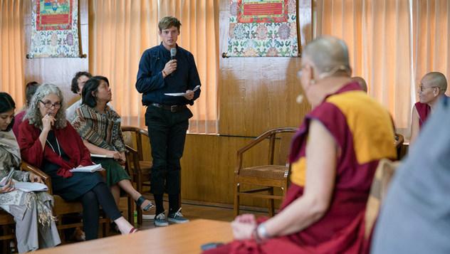 Далай-лама встретился со студентами Калифорнийского университета Сан-Диего