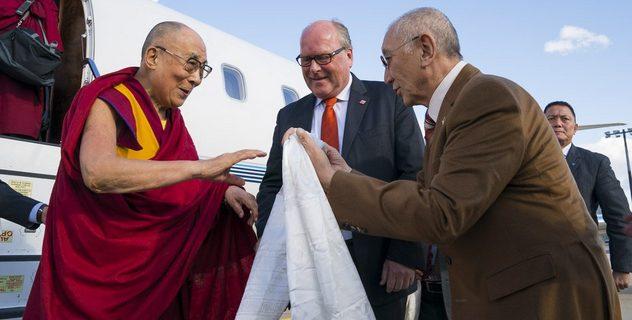 Дээрхийн Гэгээнтэн Далай Лам Герман улсын Франкфурт хотод хүрэлцэн ирлээ