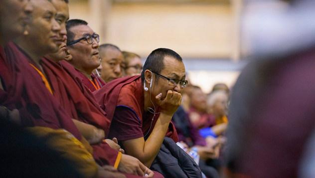 Далай-лама даровал учения по дзогчену и принял участие в публичном диалоге