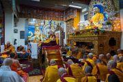 Его Святейшество Далай-лама дарует учения по просьбе буддистов из Юго-Восточной Азии. Дхарамсала, Индия. 31 августа 2017 г. Фото: Тензин Чойджор (офис ЕСДЛ)