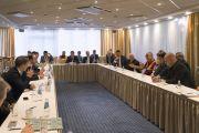 Встреча Его Святейшества Далай-ламы с парламентариями из стран Балтии. Рига, Латвия. 24 сентября 2017 г. Фото: Тензин Чойджор (офис ЕСДЛ)