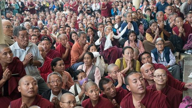 В Дхарамсале продолжились учения по трактату Чандракирти «Вступление на срединный путь»