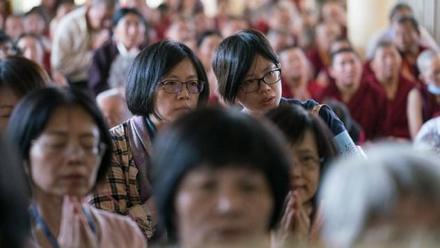 Заключительный день учений для тайваньских буддистов