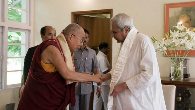 Далай-лама прибыл в Бхубанешвар