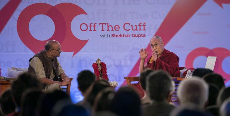 Видео. Далай-лама в программе «Экспромтом»