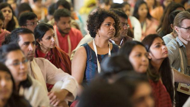 В Мумбаи прошел второй день учений по просьбе общества «Видьялоке»